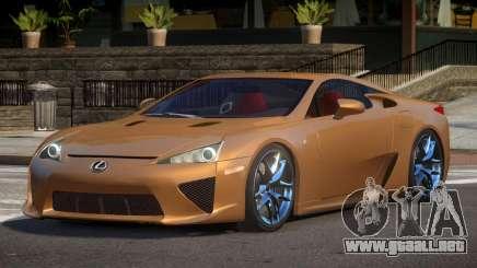 Lexus LFA R-Tuned para GTA 4