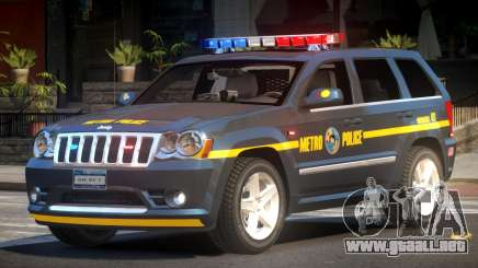 Jeep Grand Cherokee Police V1.1 para GTA 4