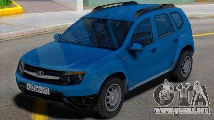 Lada Duster Russian Plates para GTA San Andreas