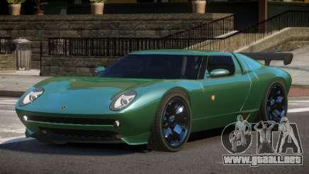 Lamborghini Miura SC para GTA 4