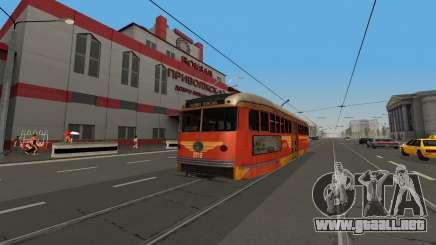 Un PCC tranvía desde el juego LA Noire para GTA San Andreas