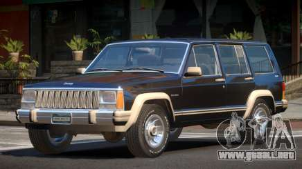 1986 Jeep Cherokee para GTA 4