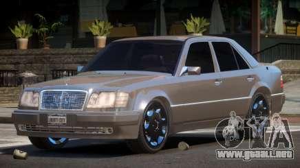 Mercedes Benz W124 LT para GTA 4