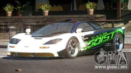 McLaren F1 BS PJ2 para GTA 4