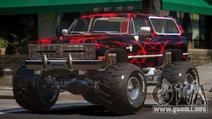 Chevrolet Blazer Custom PJ6 para GTA 4