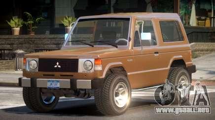 Mitsubishi Pajero OR para GTA 4