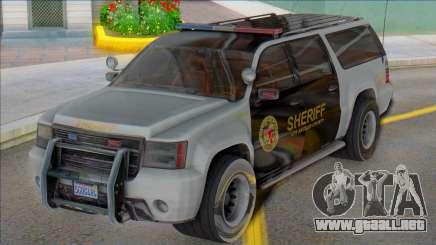 2007 Chevrolet Suburban Sheriff (Granger style) para GTA San Andreas