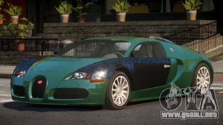 Bugatti Veyron MS para GTA 4