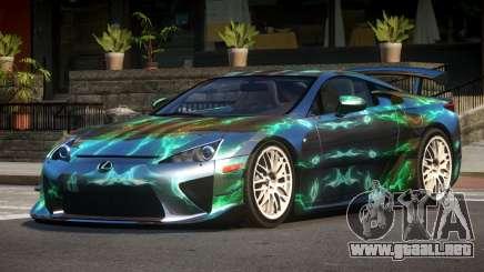 Lexus LFA RT PJ6 para GTA 4