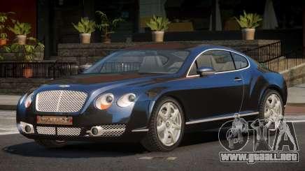 Bentley Continental GT V1.2 para GTA 4