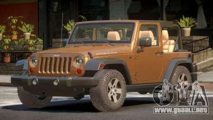 Jeep Wrangler RT para GTA 4