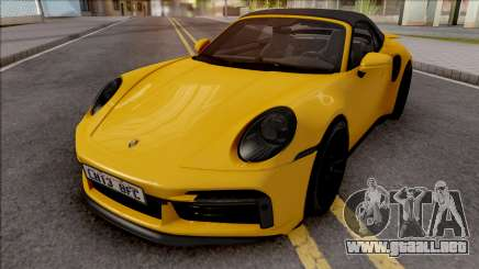 Porsche 911 Turbo S Cabrio (992) para GTA San Andreas