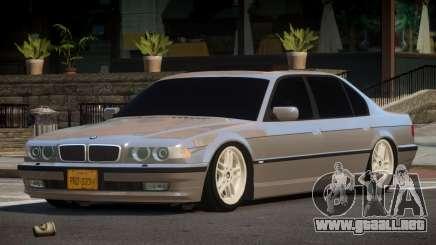 1996 BMW 750iL E38 para GTA 4