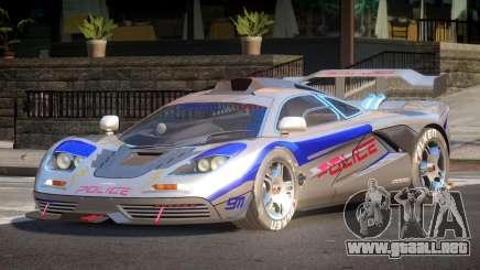 McLaren F1 Police V1.0 para GTA 4