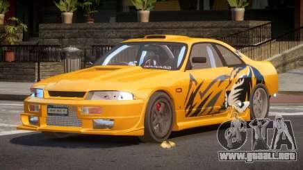Nissan Skyline R33 RTI PJ6 para GTA 4