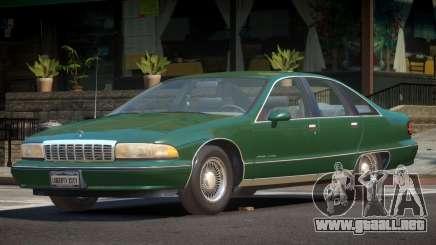 1994 Chevrolet Caprice para GTA 4