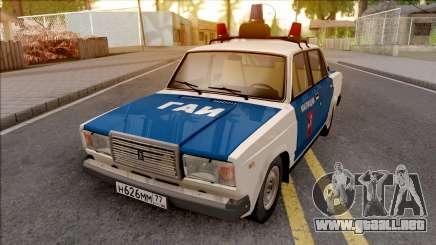 2107 de 1994, la Policía de tráfico de la policía para GTA San Andreas