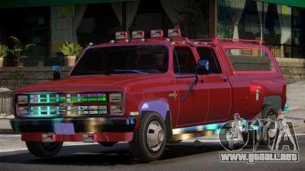 Chevrolet Silverado AFA para GTA 4