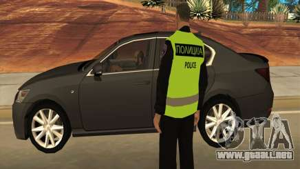 Oficial de Policía de Macedonia para GTA San Andreas