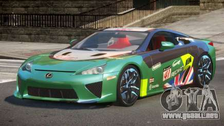 Lexus LFA Nurburgring Edition PJ3 para GTA 4