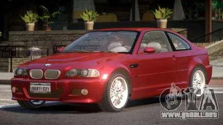 BMW M3 E46 FN para GTA 4