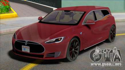 Tesla Model S Wagon para GTA San Andreas
