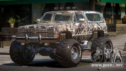 Chevrolet Blazer Custom PJ1 para GTA 4