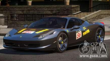 Ferrari 458 PSI PJ2 para GTA 4