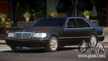 Mercedes Benz S600 LS para GTA 4
