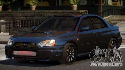 Subaru Impreza WRX BS para GTA 4