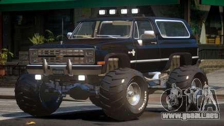 Chevrolet Blazer Custom para GTA 4