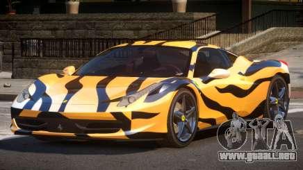 Ferrari 458 PSI PJ5 para GTA 4