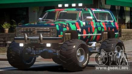 Chevrolet Blazer Custom PJ5 para GTA 4