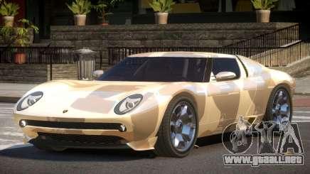 Lamborghini Miura SC PJ2 para GTA 4