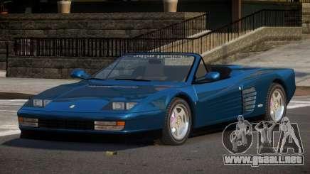 1987 Ferrari Testarossa para GTA 4