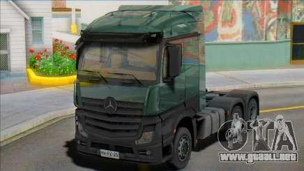 Mercedes-Benz Actros mp4 6 x4 para GTA San Andreas