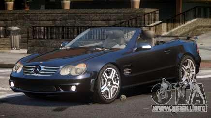 Mercedes Benz SL65 SR para GTA 4