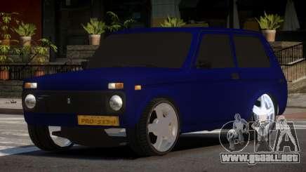 Niva 2121 OR para GTA 4