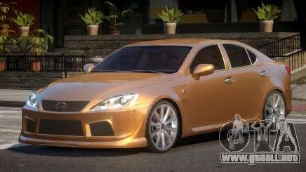 Lexus IS-F V1.1 para GTA 4