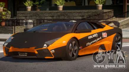 Lambor Reventon GRS PJ1 para GTA 4