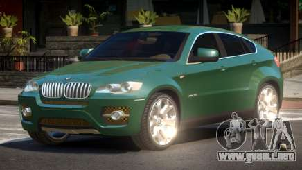 BMW X6 RSG para GTA 4
