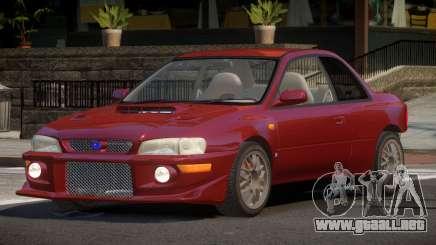 Subaru Impreza PSI para GTA 4