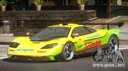McLaren F1 BS PJ6 para GTA 4