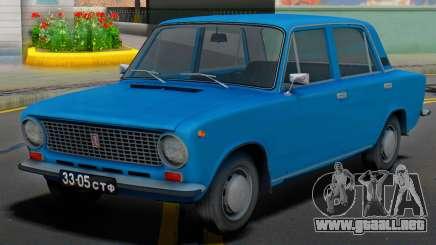 VAZ-21011 URSS Habitaciones para GTA San Andreas