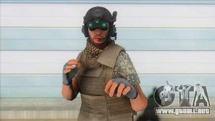 GTA Online Special Forces v3 para GTA San Andreas