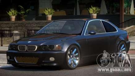 BMW M3 E46 Qz para GTA 4