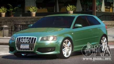 Audi S3 8L para GTA 4