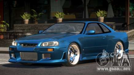 Nissan Skyline R34 PSI para GTA 4