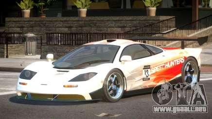McLaren F1 BS PJ4 para GTA 4