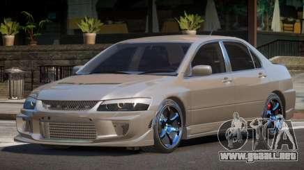 Mitsubishi Lancer SL para GTA 4